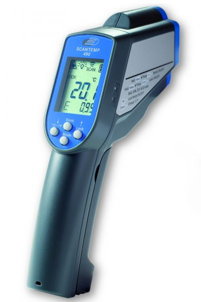 ScanTemp 490 Profi-Infrarot-Thermometer